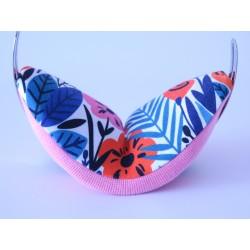 Multicolor cotton headpad...