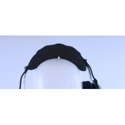 Unicolor cotton headpad...