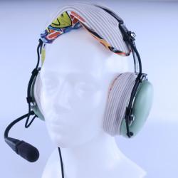 Multicolour cotton headpad...